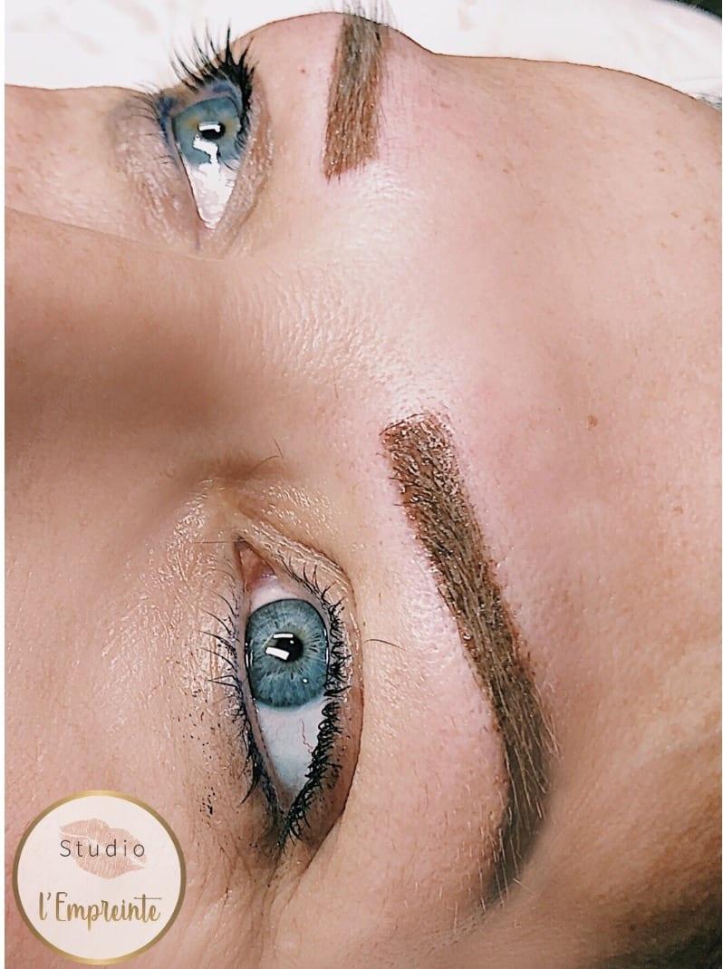 sourcils maquillage permanent