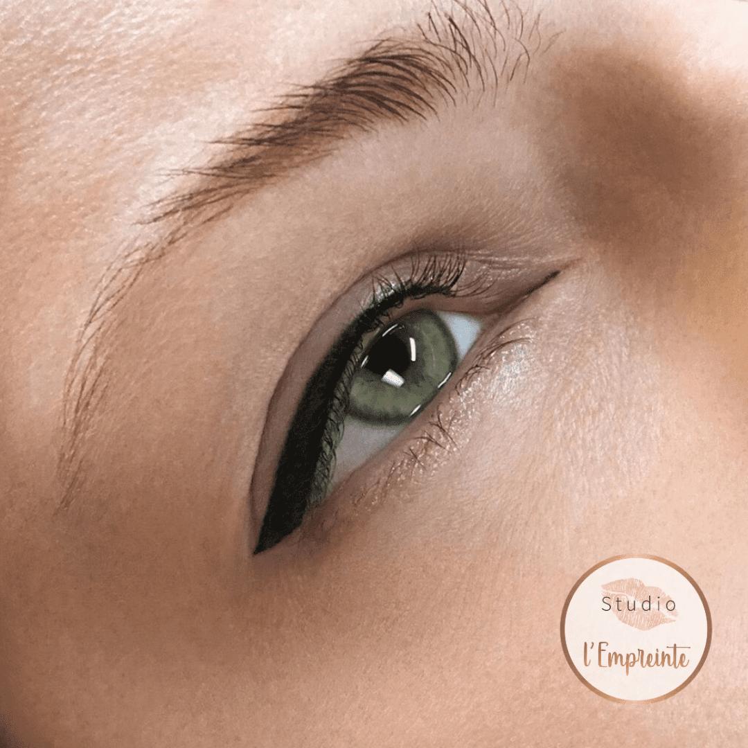 eyeliner epais maquillage permanent